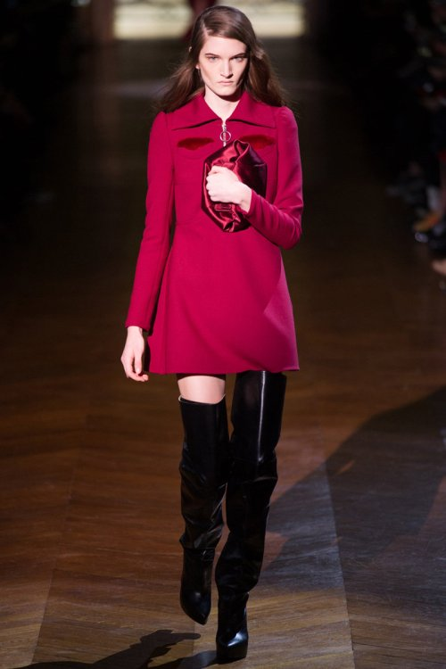 Carven Fall 2014 Runway picture via vogue