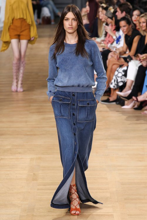 Chloe Spring 2015 Runway picture via vogue