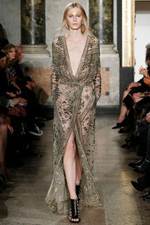 Emilio Pucci Fall 2014 Runway picture via vogue