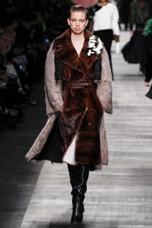 Fendi Fall 2014 Runway picture via vogue