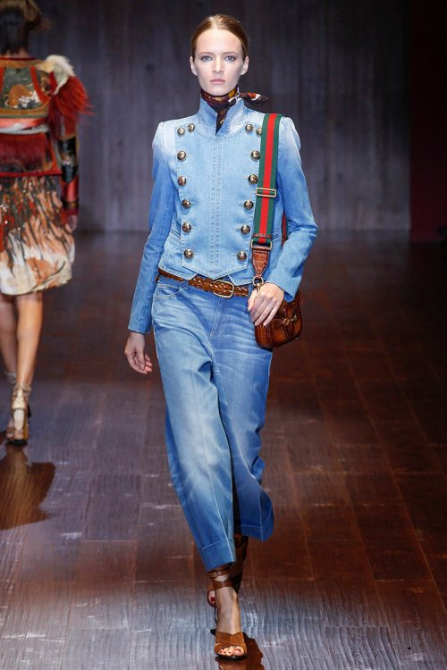Gucci Spring 2015 Runway picture via vogue