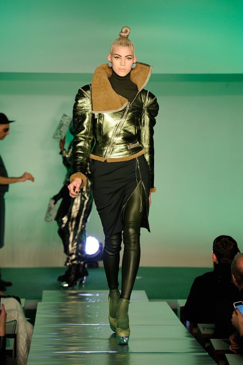 Jean Paul Gaultier Fall 2014 Runway picture via vogue