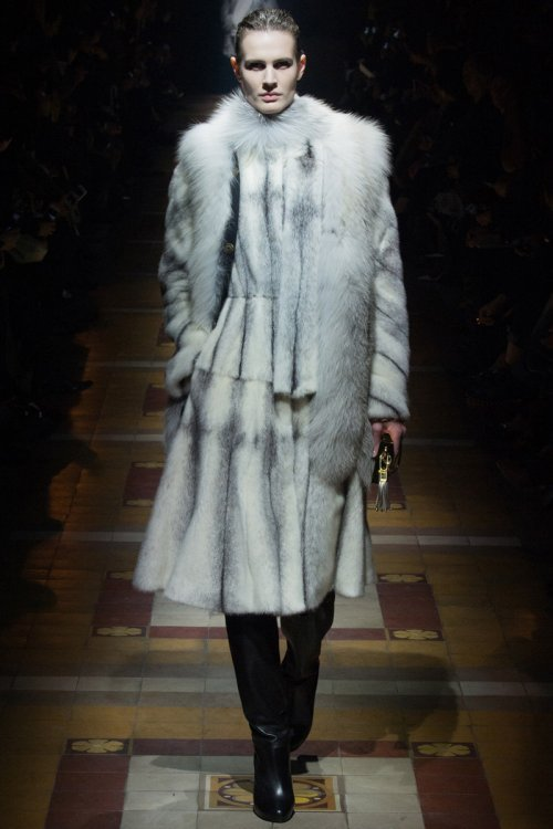 Lanvin Fall 2014 Runway picture via vogue