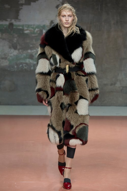 Marni Fall 2014 Runway picture via vogue