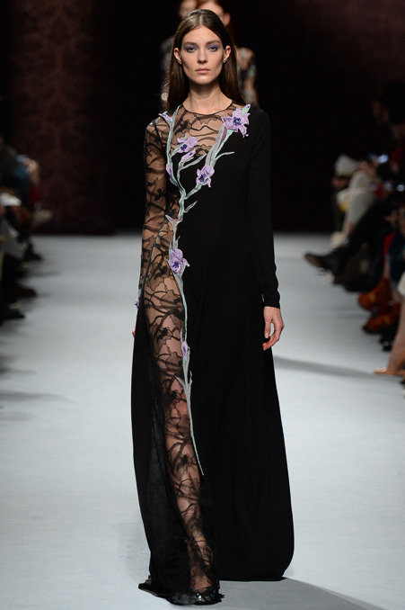 Nina Ricci Fall 2014 Runway picture via vogue
