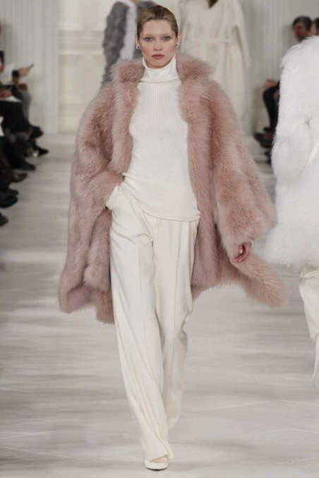 Ralph Lauren Fall 2014 Runway picture via vogue