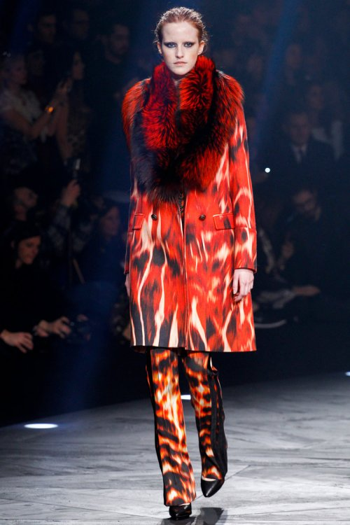 Roberto Cavalli Fall 2014 Runway picture via vogue