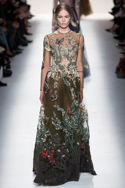 Valentino Fall 2014 Runway picture via vogue
