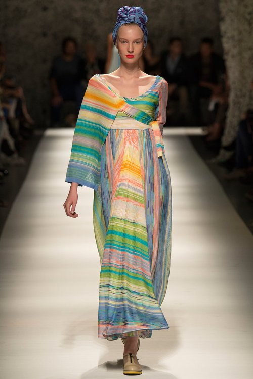 Missoni Spring 2015 Runway picture via vogue