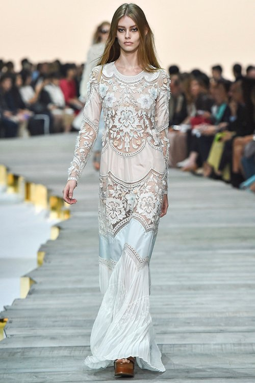Roberto Cavalli Spring 2015 Runway picture via vogue