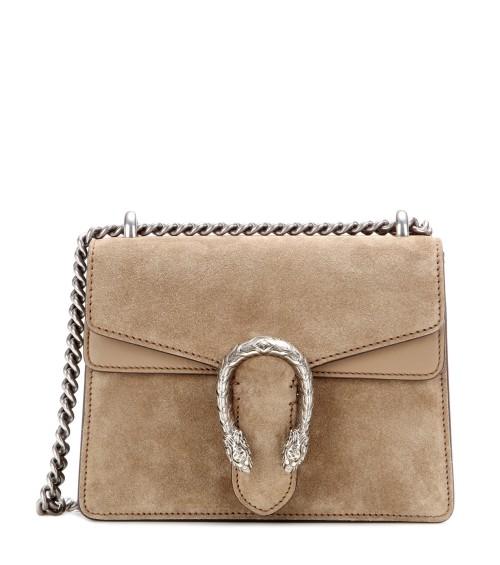 Gucci Dionysus Mini Suede Bag